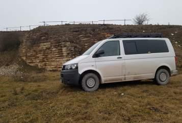 Wohnmobil mieten in Ansbach von privat | VW T5  BIKERbus