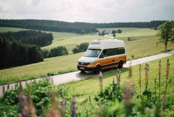 Wohnmobil mieten in Gießen von privat | Volkswagen Crafti