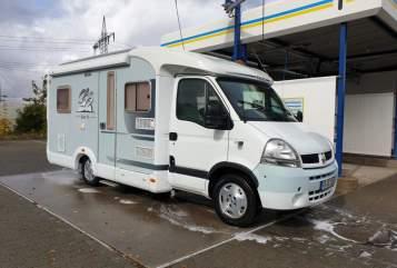 Wohnmobil mieten in Kalbach von privat | Knaus Sunny