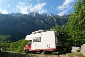 Wohnmobil mieten in Köln von privat | Dethleffs Alkoven auf Fiat Ducato  GlobetrotterCGN