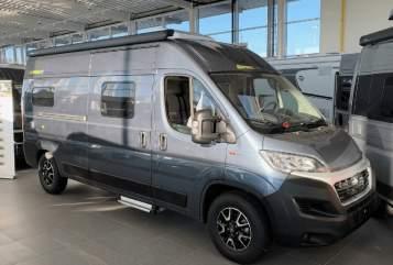 Wohnmobil mieten in Marienheide von privat | Hymercar Hymer Free 602
