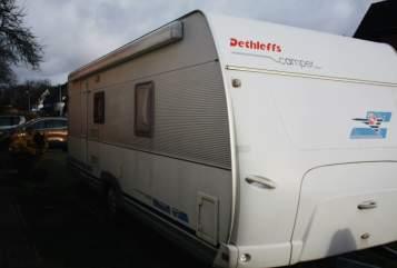 Wohnmobil mieten in Duisburg von privat   Dethleffs Deffi