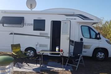 Wohnmobil mieten in Sondershausen von privat   Luano Camp Lieselotte