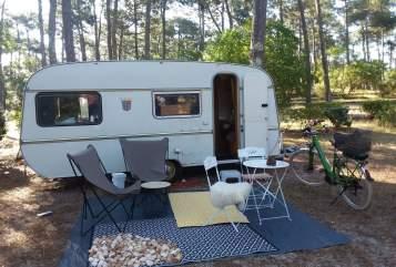 Wohnmobil mieten in Schriesheim von privat | Tabbert Wilma Woodstock