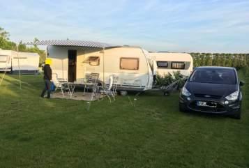 Wohnmobil mieten in Viersen von privat | Dethleffs Familienspaß