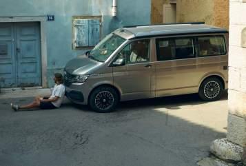 Wohnmobil mieten in Hamburg von privat | VW Mojave