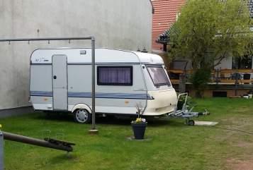 Wohnmobil mieten in Zehdenick von privat   Hobby  Karlchen