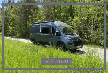 Wohnmobil mieten in München von privat | Pössl  DER BAZI 2020