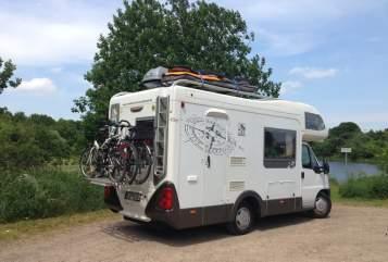 Wohnmobil mieten in Greifswald von privat | Knaus Knausi