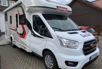 Wohnmobil mieten in Köln von privat   Challenger Lucie