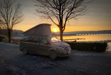 Wohnmobil mieten in Wiesmoor von privat | Mercedes  MarcoPolo