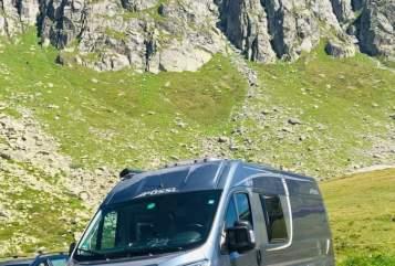 Wohnmobil mieten in Sindelfingen von privat | Pössel PÖSSL 2WINPlus