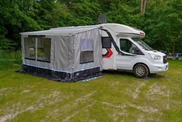 Wohnmobil mieten in Duisburg von privat   Challenger Schnecke Neu*