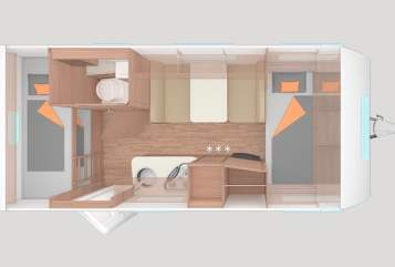Wohnmobil mieten in Aichtal von privat | Weinsberg  Maja