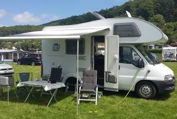 Wohnmobil mieten in Lingen von privat | Knaus Wanderdüne