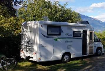 Wohnmobil mieten in Seegebiet Mansfelder Land von privat | Forster Gin44
