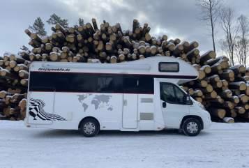 Wohnmobil mieten in Berlin von privat | Fiat DeeJay