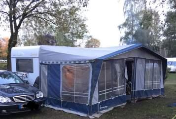 Wohnmobil mieten in Verden von privat   Hymer Luise