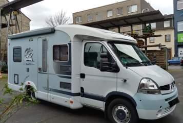 Wohnmobil mieten in Duisburg von privat   Knaus Knausi