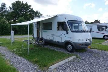 Wohnmobil mieten in Veendam von privat | Hymer Starline 510