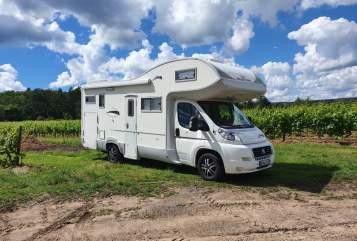 Wohnmobil mieten in Weisenheim am Berg von privat | Fiat Pfalzmobil