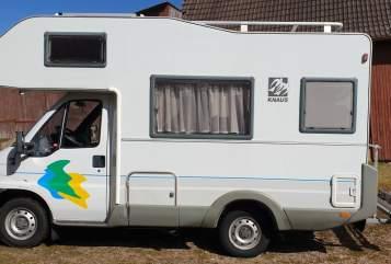 Wohnmobil mieten in Donaueschingen von privat | Knaus Balu