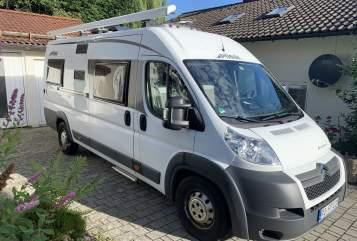 Wohnmobil mieten in Stephanskirchen von privat | Pössl Bus
