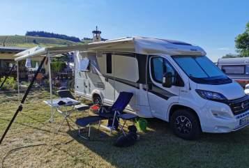 Wohnmobil mieten in Düren von privat | Knaus Fred Fischer