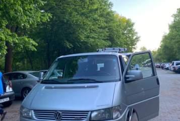 Wohnmobil mieten in Nürnberg von privat | VW Multivan Manuela