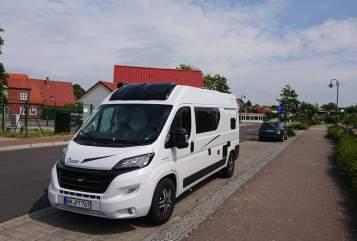 Wohnmobil mieten in Hamburg von privat | Karmann Mobil Dexi