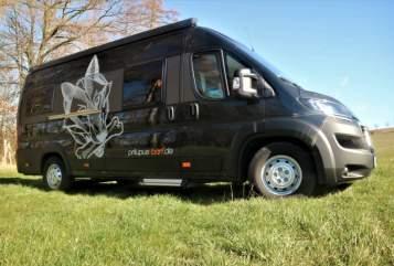 Wohnmobil mieten in Wutha-Farnroda von privat   Vantourer Dog`s Van Black