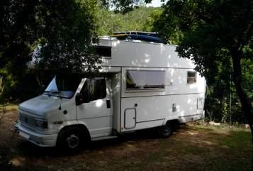 Wohnmobil mieten in Dresden von privat | Fiat Wilma