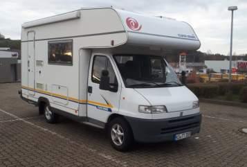 Wohnmobil mieten in Immenhausen von privat | Fiat  Euramobil