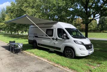 Wohnmobil mieten in Hannover von privat | Hobby Vantana on Tour Hobby Vanny