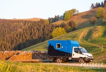 Wohnmobil mieten in Freiburg im Breisgau von privat | Iveco FREISELE