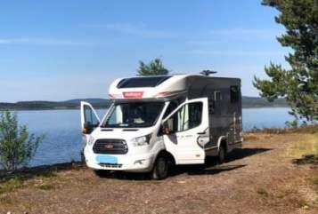 Wohnmobil mieten in Wittstock von privat   Challanger Campino