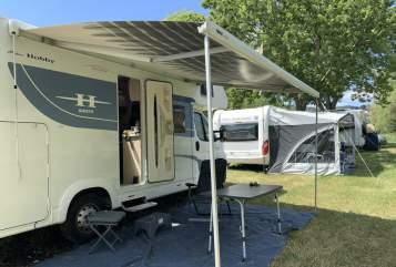 Wohnmobil mieten in Bühl von privat | Hobby Streuner