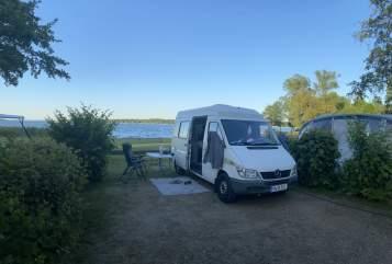 Wohnmobil mieten in Haselbachtal von privat | Mercedes Benz  Hugo