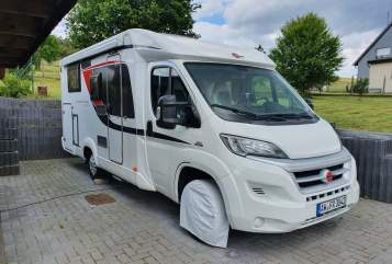 Wohnmobil mieten in Berg von privat | Bürstner Fiat Ducato Muschel