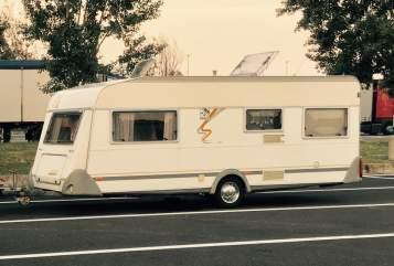 Wohnmobil mieten in Herrenberg von privat | Knaus Knausi Mausi