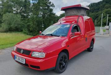 Wohnmobil mieten in Reichelsheim von privat | VW Caddy Hochdachcamper Luxury Caddy