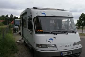 Wohnmobil mieten in Hitzacker von privat   Hymer Brummer