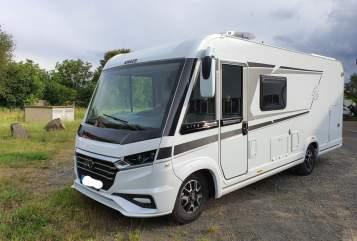 Wohnmobil mieten in Hungen von privat | Knaus Meggy Deluxe
