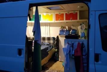 Wohnmobil mieten in Sandhausen von privat | Ford Die Fladders