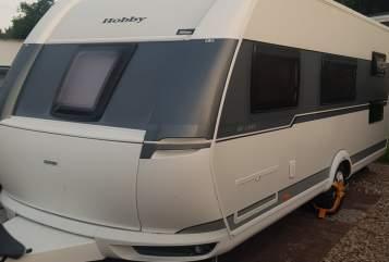 Wohnmobil mieten in Itzehoe von privat | Hobby Traumwohnwagen