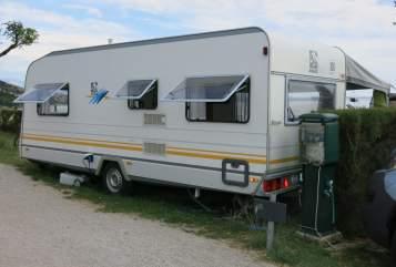 Wohnmobil mieten in Beilngries von privat   Knaus Familienhänger