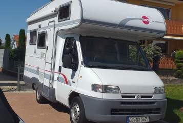 Wohnmobil mieten in Offenburg von privat | Bürstner Citroën Jumper  Womi