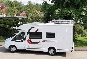 Wohnmobil mieten in Leutkirch im Allgäu von privat | Challenger Mageo