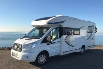 Wohnmobil mieten in Krefeld von privat | Chausson  Luxuswagen Toni