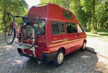 Wohnmobil mieten in Hamburg von privat | VW T4 Rote Paprika